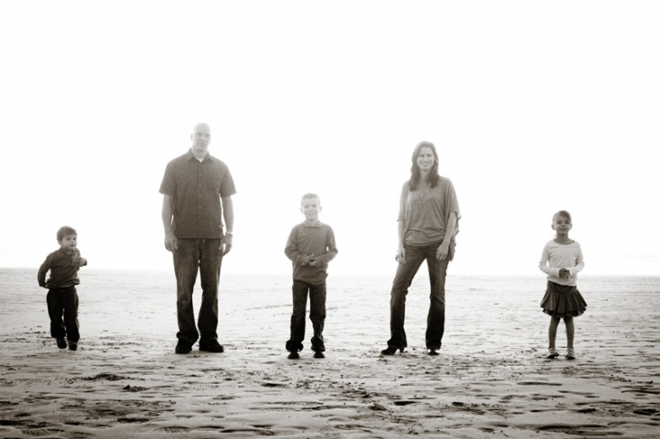 Family Portraits on the Central Coast