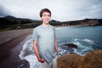 Senior Portrait Photography on the Beach