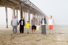 Cayucos Beach Family Portrait Photography