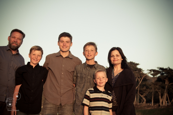Central Coast Family Portait Photography Morro Bay
