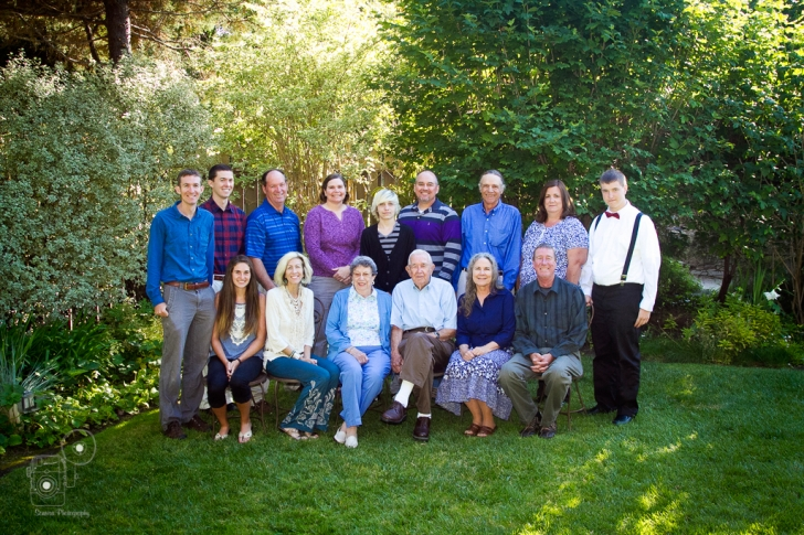 Cambria Pines Lodge Family Portrait Photography