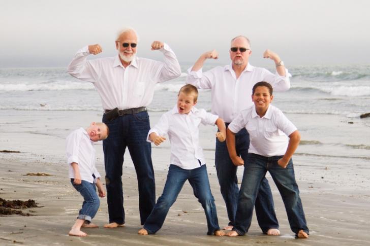 Morro Bay Family Portrait Session