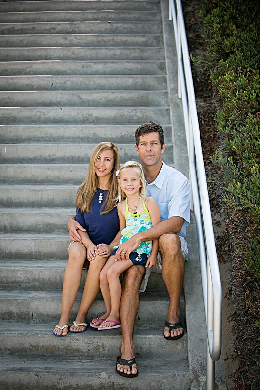 Newport beach family portrait photography